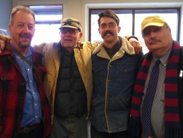 Nick Vander Puy, Joe Rose, Amorin Mello & Richard Ackley