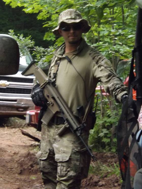 Armed Security Forces in Northern Wisconsin. Photo: Rob Ganson